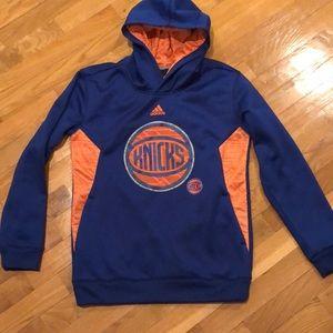 Adidas Knicks basketball hoodie size M 10/12